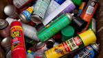 common VOC source aerosol cans