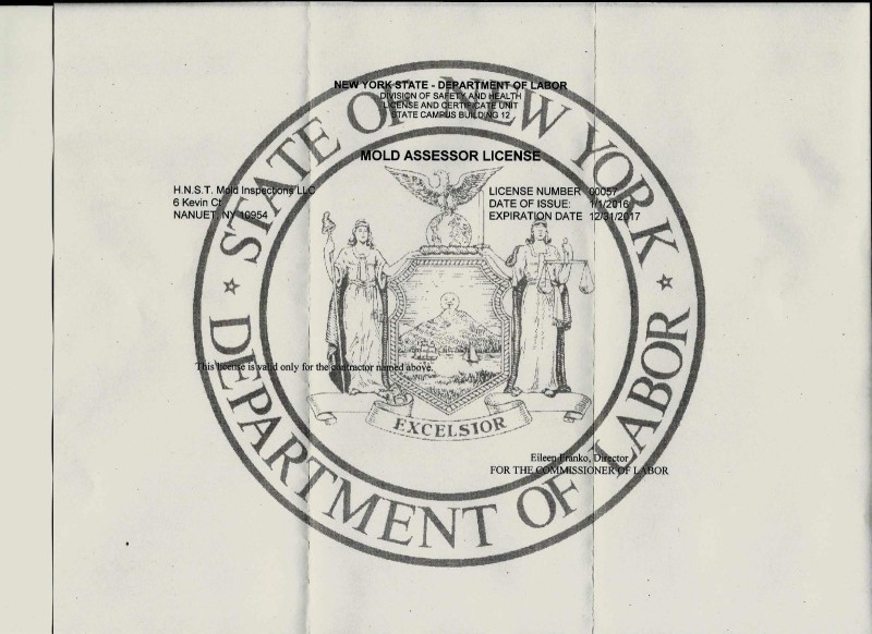 NYDOL Certificate